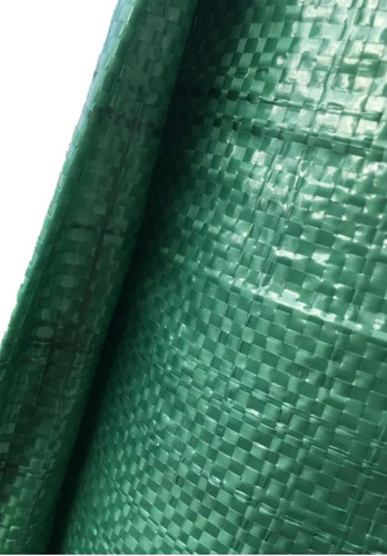 Rafia Cubre Cerco Lona Steck Verde 1.85mt X 10mt Oferta