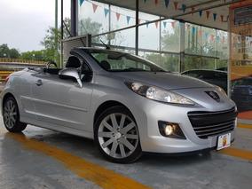 Peugeot 207 Cc 2013 Tm5 Piel A/ac Ba Abs Mp3 R-17 22 Mil Km