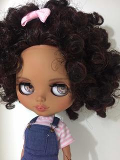 Blythe Tbl Custom Doll Customizada Por Celia Dias Doll
