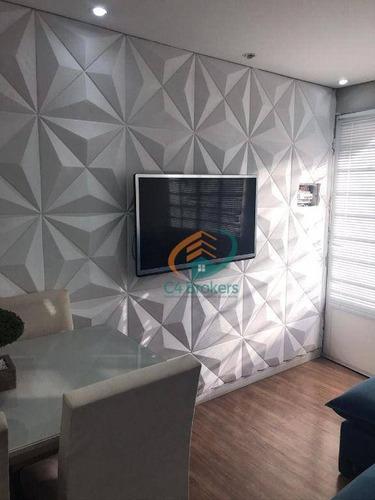 Casa Com 2 Dormitórios À Venda, 40 M² Por R$ 180.000,00 - Vila Aeroporto - Guarulhos/sp - Ca0377