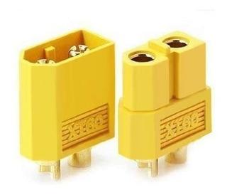 Conector Xt60 Battery Para Rc, Set Conector Macho Y Hembra