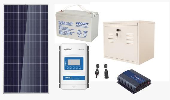 Planta Solar Profesional De 660w 3300w Diarios