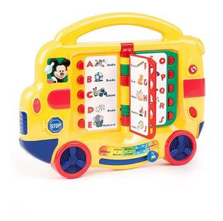 Juguete Interactivo Bebes Autobus Mickey Club House Ditoys