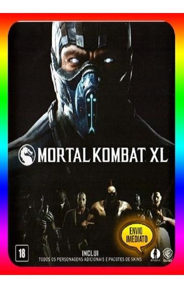 Mortal Kombat Xl Pc - Steam Key (envio Já)