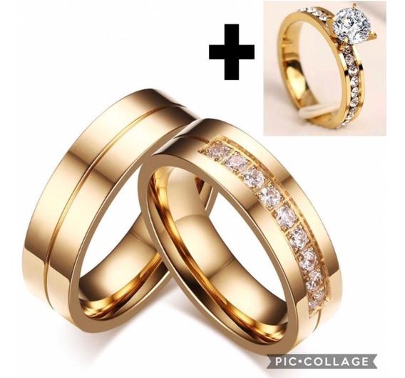 Par Alianças De Moeda Antiga C/ Pedrinha Noivado Casamento