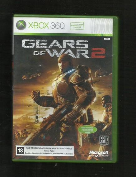 Capa E Encarte Gears Of War 2 - Xbox 360 - Envio Imediato