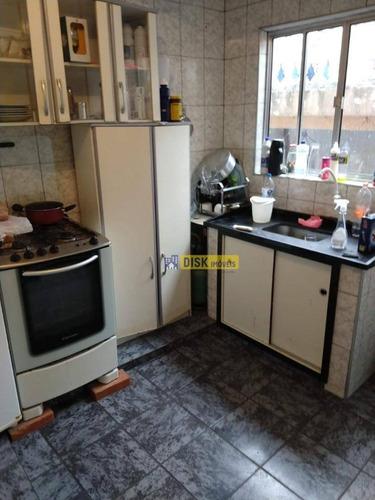 Casa Com 1 Dormitório Para Alugar, 50 M² Por R$ 850,00/mês - Jardim Alvorada - Santo André/sp - Ca0317