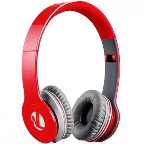 Fone De Ouvido Newlink Headset Extreme Hs110 Vermelho