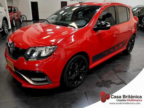 Renault Sandero Rs Mecánico 4x2 Gasolina