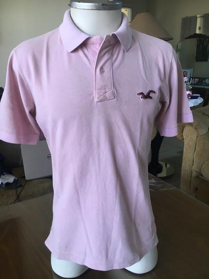 Lote De 3 Camisas Polo, Hollister Vila Perry Ellis Tam. M