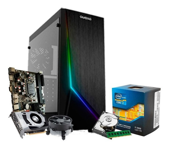 Pc Gamer I7, 16gb, Ssd 240gb, Gf 6gb 1060 Gtx + Nfe
