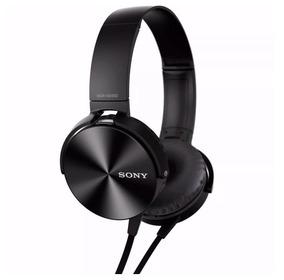 Fone De Ouvido Extra Bass Com Microfone P2 Sony Mdr-xb450