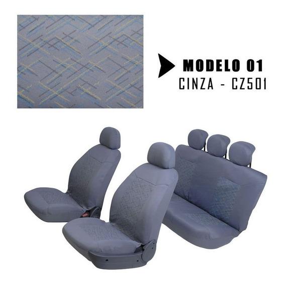 Capa Banco Carro Automotivos Universal Tecido Original Bolsa