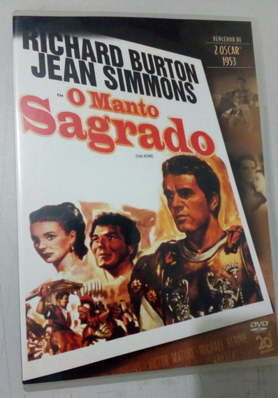 Dvd O Manto Sagrado - 1953