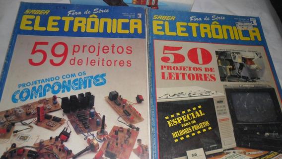 Revista Saber Eletronica Lote Com 3 Revista