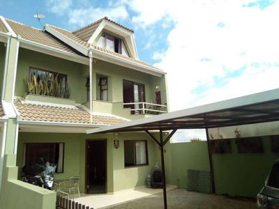 Sobrado Com 3 Dormitórios À Venda, 156 M² Por R$ 520.000 - Santa Felicidade - Curitiba/pr - So0118