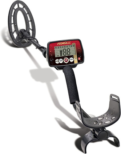 Fisher F22 Weatherproof Metal Detector With Submersible Sear