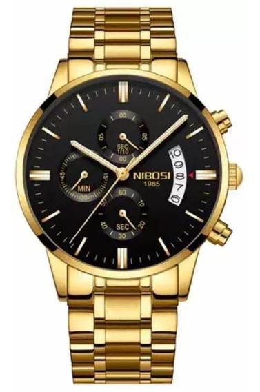 Relógios Masculinos Nibosi Blindado Anti-risco