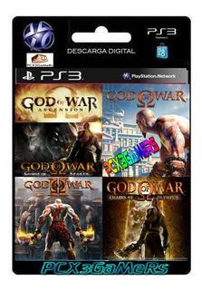Ps3 Pack God Of War 5 En 1 [pcx3gamers]