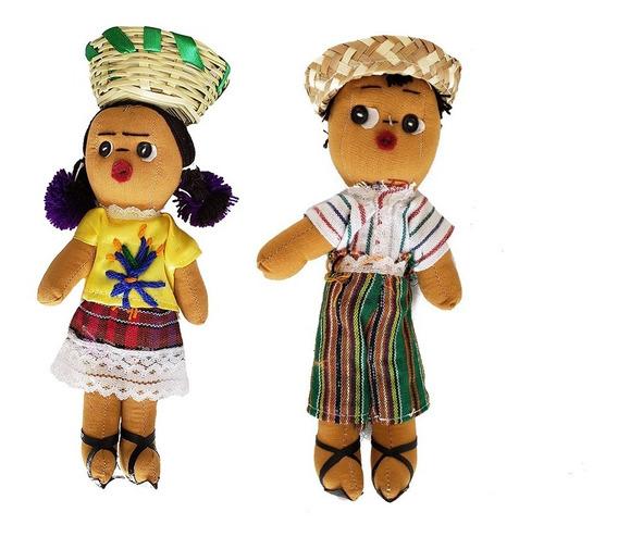Muñecas Artesanales Mexicanas Chiapas Tradicional Recuerdo