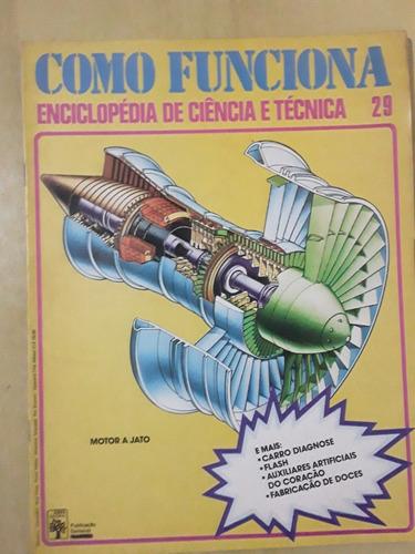 Pl163 Revista Fasc Como Funciona Nº29 Motor A Jato