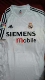 Camisa Do Real Madrid 2004 Zidane