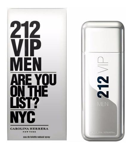 212 Vip Men De Carolina Herrera 100 Ml / Myperfume