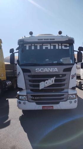 Scania R 480 6x4 Ano 2018