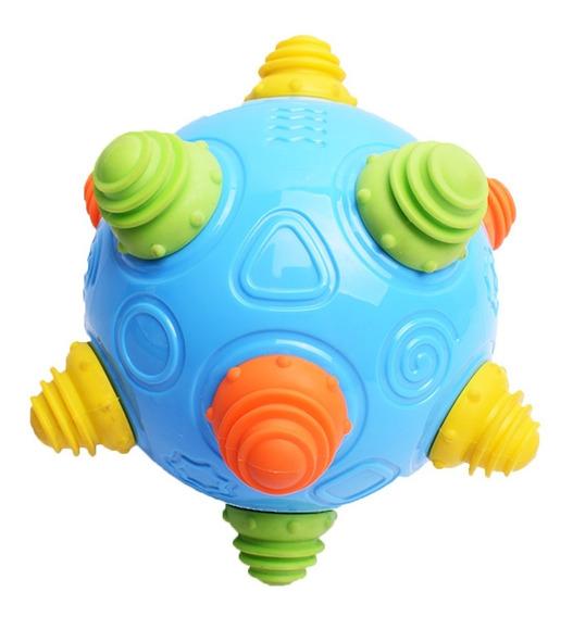 Pelota Vibradora Saltarina Para Bebe Didactico Vibra Ball