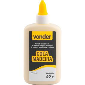 Cola De Madeira 90 G Caixa Com 12 Unidades - Vonder