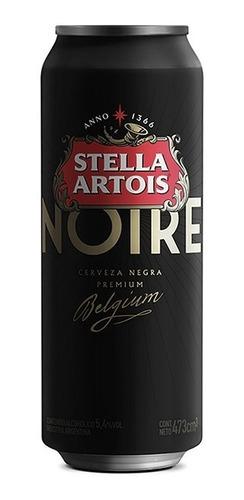 Cerveza Stella Artois Noire Schwarzbier Negra Lata 473ml 18u