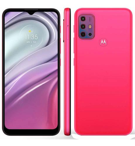 Imagem 1 de 4 de Smartphone Motorola Moto G20 64gb 4g Câmera Quádupla Pink