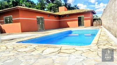 Chácara Residencial À Venda, Chácara Brasil, Atibaia. - Ch0051