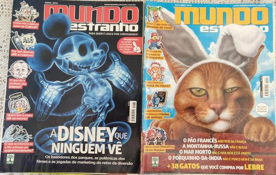 Revista Mundo Estranho - 2 Edições - 137/144 - Frete Grátis