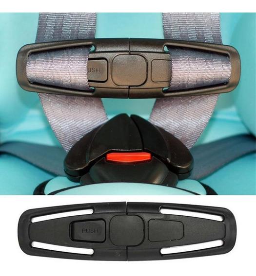 Trava Cinto Segurança Cadeirinha Bebe Conforto Carro Clipe