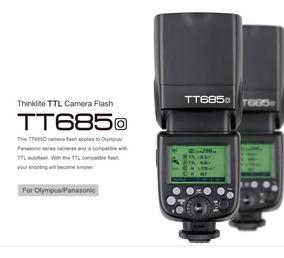 Flash Godox P/ Olimpus/panasonic Tt685o Spedlight Ttl/hss