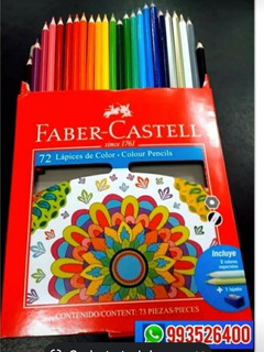 Colores Faber Castell X 72 Unidades 100 % Original