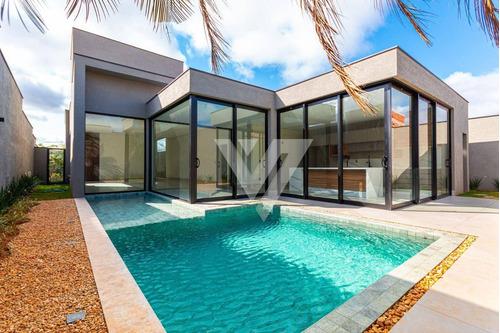 Imagem 1 de 29 de Casa Com 3 Dormitórios À Venda - Alphaville Nova Esplanada Iv - Votorantim/sp - Ca1447
