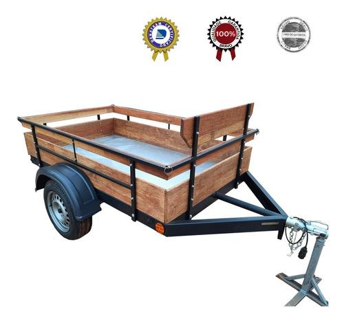 Carreta Reboque Fazendinha 2x1,20 500kg - Impecável