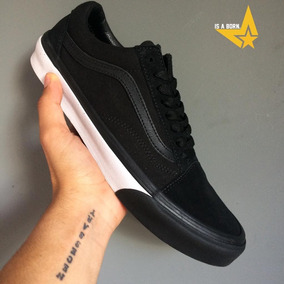 Vans Old Skool Mono Bumper/true White 100% Original