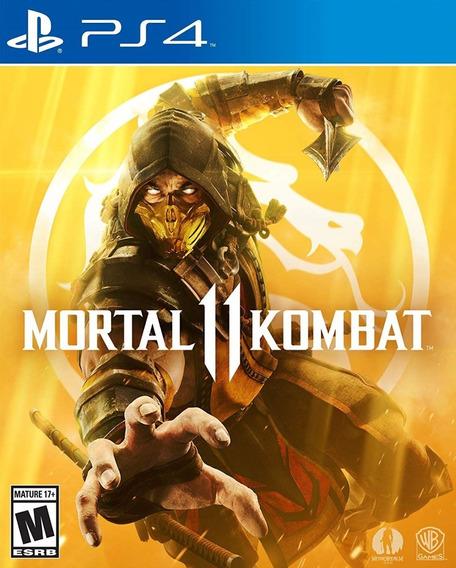 Mortal Kombat 11 Ps4 Locação 10dias Português Mk11