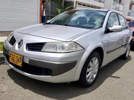 Renault Megane Ii 2008 - Perfecto Estado - Gris Platina