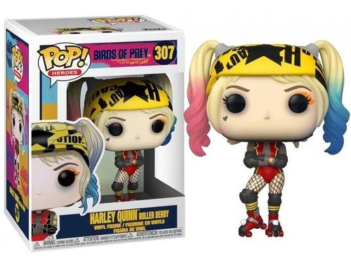 Funko Pop! Heroes #307 Birds Harley Quinn Roller Original