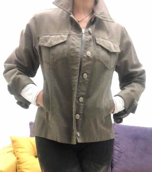 Campera Mujer Bachino Talle S 100% Cotton