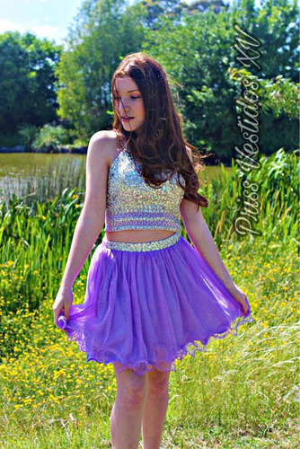 Vestido Quinceañera 15 Años Dulce 16 Cumpleaños Xv Lila