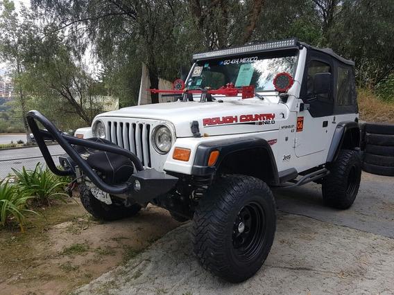 Jeep Wrangler Sahara 5vel Techo Lona Mt 1999