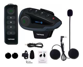 Intercomunicador Bluetooth Casco Moto V8 Control 5 Vias Sti