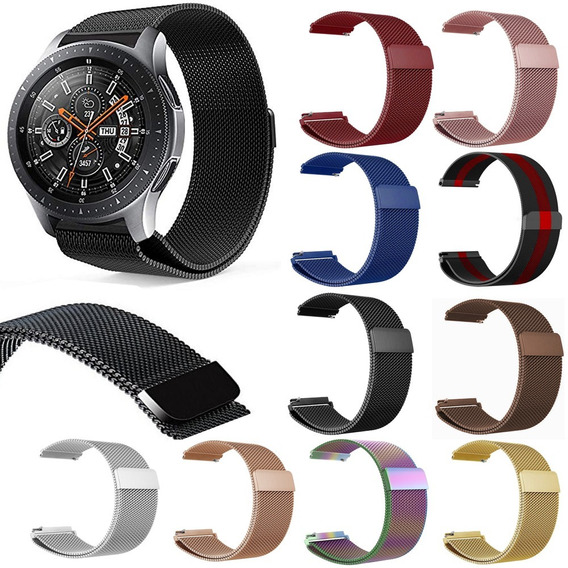 Extensible Correa Malla Milanese Para Galaxy Watch 46mm