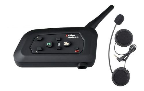 Intercomunicador Moto Bluetooth V4 Unidad Single