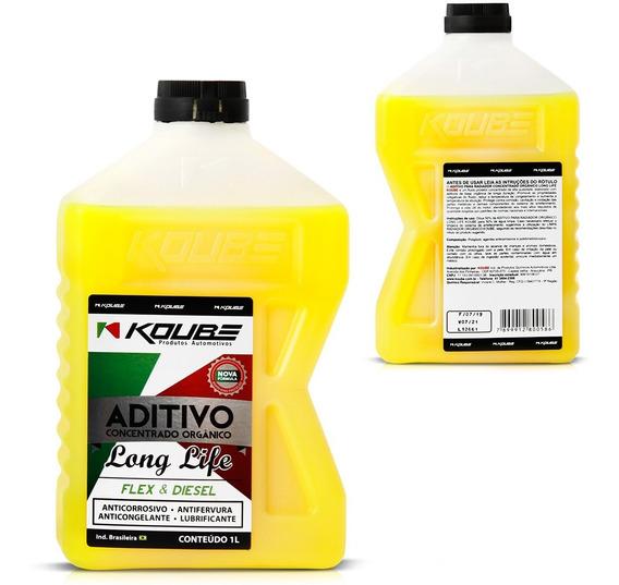 Aditivo Radiador Concentrado Orgânico Renault Amarelo 1l